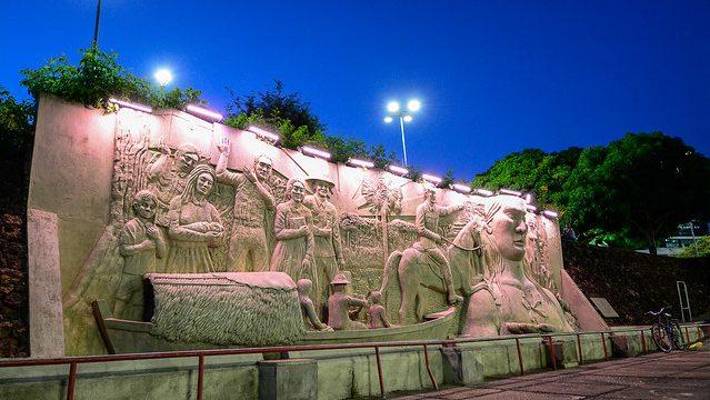 Monumento aos pioneiros é um dos pontos culturais de Boa Vista