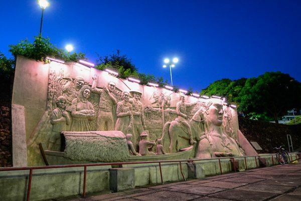 Monumento aos pioneiros de Boa Vista