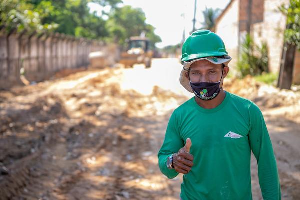 Obras feitas com recursos de Romero Jucá geram empregos em Boa Vista