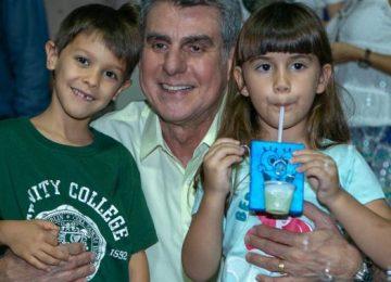 Rafela e Ivan são netos de Romero Jucá