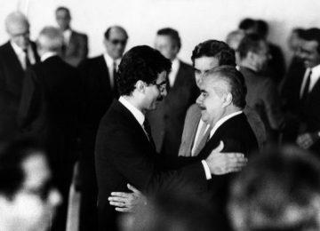 Romero Jucá com o ex-presidente José Sarney