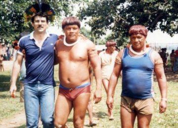 Romero Jucá com lideranças indígenas