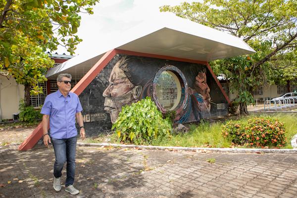 Romero Jucá visita a Universidade Federal de Roraima