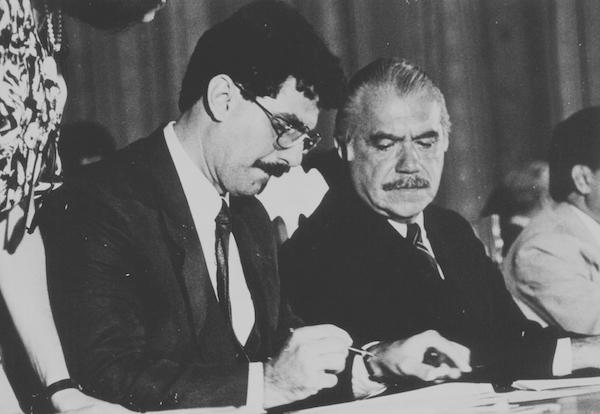 Romero Jucá e José Sarney em Roraima