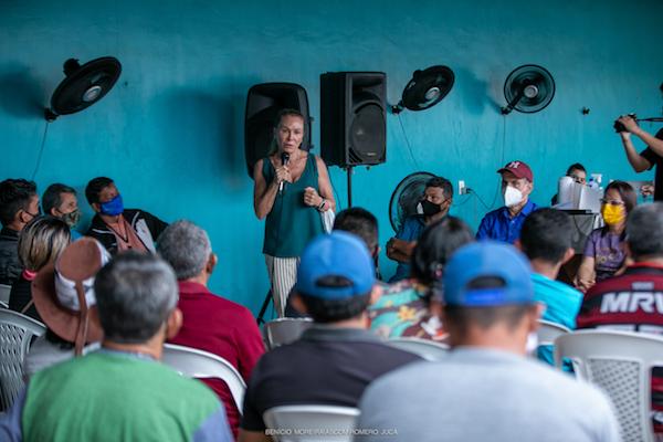 Teresa Surita elogia o trabalho de Romero Jucá