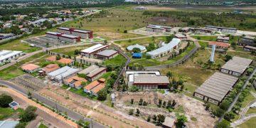 Imagem aérea da Universidade Federal de Roraima
